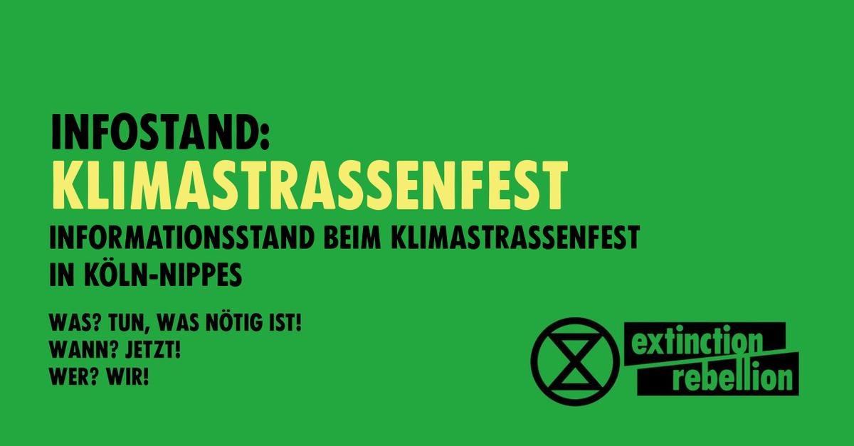 Klimastraßenfest Nippes