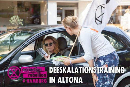 Deeskalationstraining in Altona